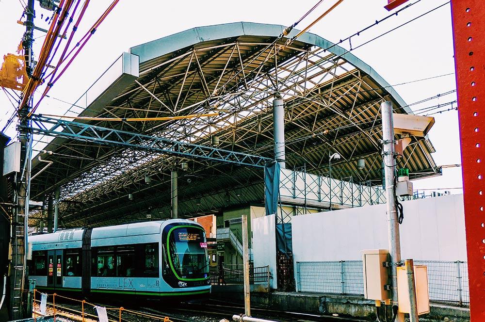 駅 西 広島 JR西広島駅橋上化工事 2021.06(Vol.12)
